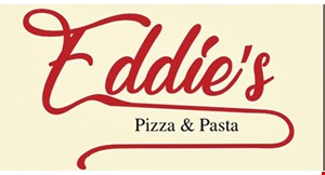 Product image for Eddie's Pizza & Pasta $5 off any purchase of $25 or more.