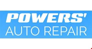 Powers' Auto Repair logo