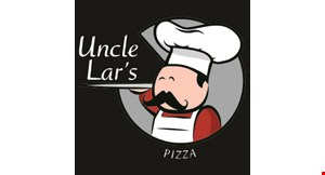 Product image for Uncle Lar's Pizza $10 OFF any purchase of $50 or more.