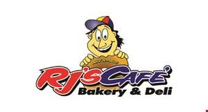 Rj's Cafe Bakery & Deli logo