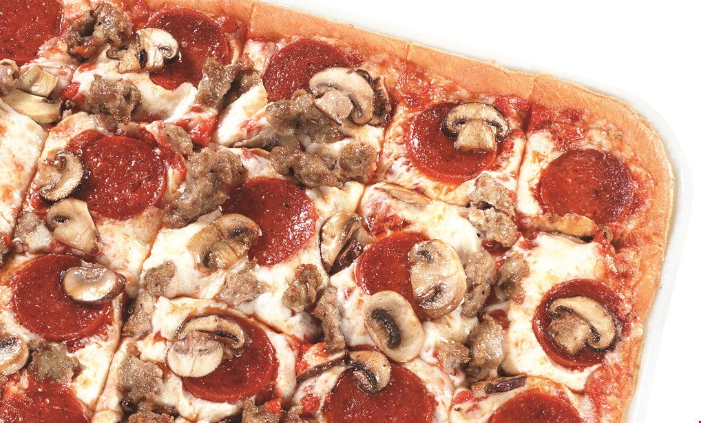 """Product image for Ledo Pizza $34.99 18"""" 2-topping pizza + large cheesy garlic bread, 1/2lb boneless wings"""