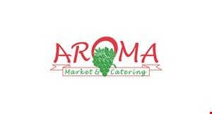Aroma Market & Catering logo