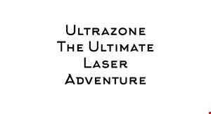 Ultrazone-The Ultimate Laser Adventure logo
