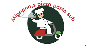 Product image for Mignano's Pizza $10 Off any purchase of $60 or more.