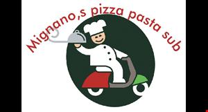 Mignano's Pizza logo