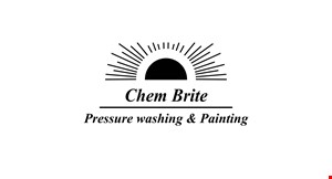Product image for Chem Brite $299 1 story house soft wash · restrictions may apply.