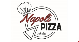 Product image for Napoli Pizza $15 OFF $100 or more carry out only.