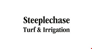 Product image for Steeple Chase Irrigation $200 off Irrigation Installation