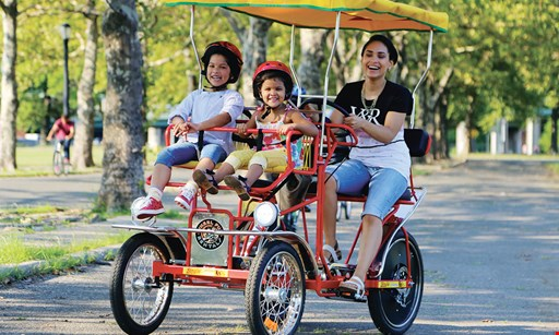 Product image for Wheel Fun Rentals 20% OFF one hour rental.