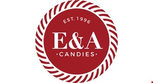 E & A Candies logo