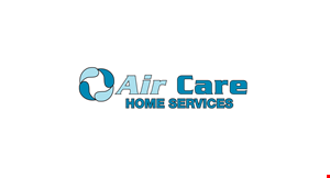 Product image for Air Care Home Services $39.95 tune-up special