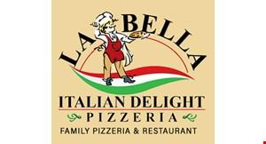 La Bella Italian Delight Pizzeria logo