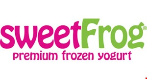 Product image for Sweet Frog $1 OFF any yogurt purchase of $5 or more.