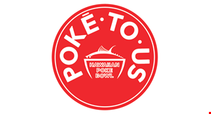 Poke to Us Hawaiian Poke Bowl logo