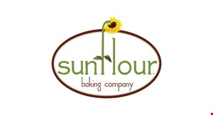 Product image for Sunflour Baking Company In Ballantyne Quad 25% off your first online order ON OUR WEBSITE SunflourBakingCompany.com/delivery.
