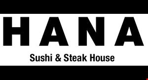 Hana Steak & Sushi House logo