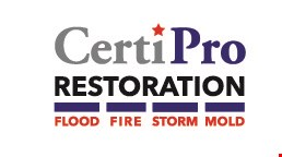 CertiPro RESTORATION logo