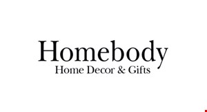 Homebody Home Decor & Gifts logo