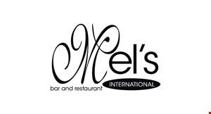 Mel's International logo