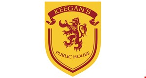 Product image for Keegan's Public House - Woodstock $10 OFF any purchase of $50 or more TAKE OUT, DELIVERY & DINE IN.