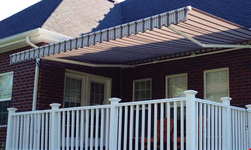 Product image for Semco Construction, Inc. $250 off SunSetter® motorized retractable awning.