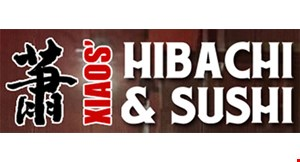 Product image for Xiaos' Hibachi & Sushi $5 OFF any purchase of $30 or more OR $10 OFF any purchase of $60 or more.