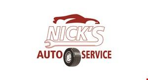 Nick's Auto Service logo