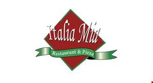 Italia Mia Restaurant & Pizza logo