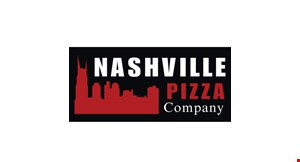 Product image for Nashville Pizza Company $2 off any large pizza.