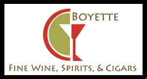 Boyette Fine Wine, Spirits, & Cigars logo