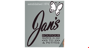JAN'S BOUTIQUE logo