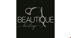 Beautique Hair Design logo