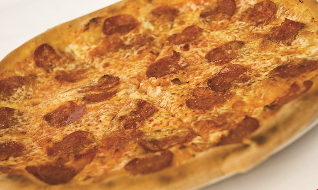 Product image for Macerola's Pizza Gram Plus only $24.99 + tax 12-cut cheese pizza & 25 boneless wings.