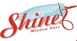 Shine Window Care logo