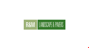 Product image for R & M Landscape & Pavers $500 OFF any job of $5,000 or more