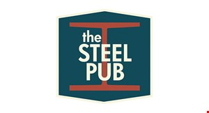 Product image for The Steel Pub $3 OFF any purchase of $15 or more.