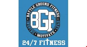 Battle Ground Fitness logo