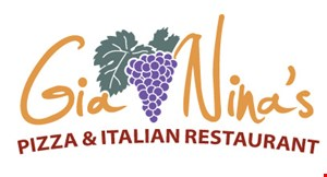 Product image for Gia Nina's Pizza & Italian Restaurant $1 off any large pizza not valid Fri., Sat. or holidays