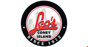 Product image for LEO'S CONEY ISLAND $3 Off any purchase of $25 or more.