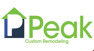 Product image for Peak Custom Remodeling $1,000 OFF any job of $10,000 or more.