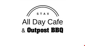 Stax All Day Cafe & Outpost BBQ logo