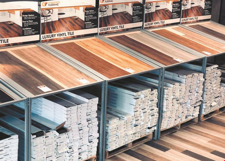 Product image for Overstock Flooring 50¢ OFF Sq. Ft. installed.