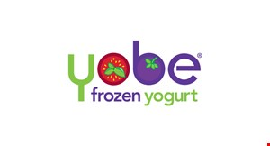 Product image for Yobe Frozen Yogurt $10 For $20 Worth Of Frozen Yogurt