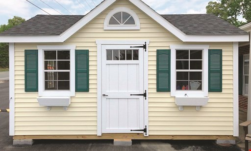 Product image for Amish By Design $200 OFF Any Shed or Garage .