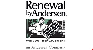 Product image for Renewal By Andersen No money down, no payment, no interest for 1 year and buy 1 window or door, get 1 window or door 40% off