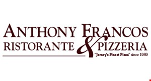 Product image for Anthony Francos Ristorante & Pizzeria  BUY 1, GET 1 50% OFF Dinner Buy 1 Regular Priced Dinner & Receive 50% Off 2nd Dinner Of Equal Or Lesser Value.