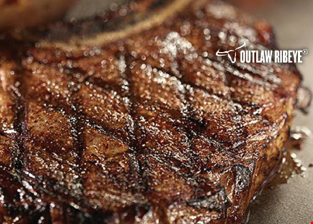 Product image for Longhorn Steakhouse 4 OFF DINNER with purchase of two adult dinner entrées.