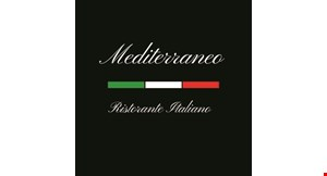 Product image for Mediterraneo Ristorante 10% off any order.