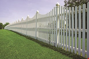 Product image for Progressive Fence & Railing Free walk gate with 200 ft. vinyl fence purchase.