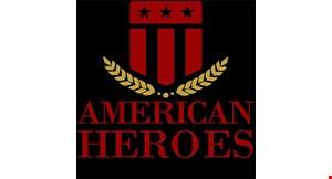 Product image for American Heroes Smokehouse $3 OFF any purchase of $15 or more